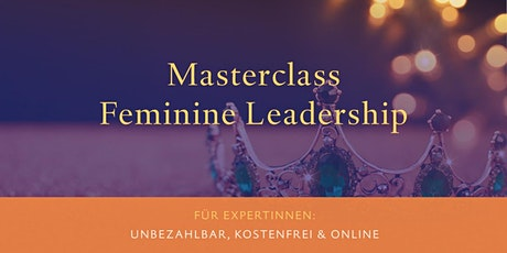 Masterclass Feminine Leadership Tickets