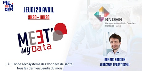 MEET MY DATA #1 : le RDV de l'écosystème des données de santé billets