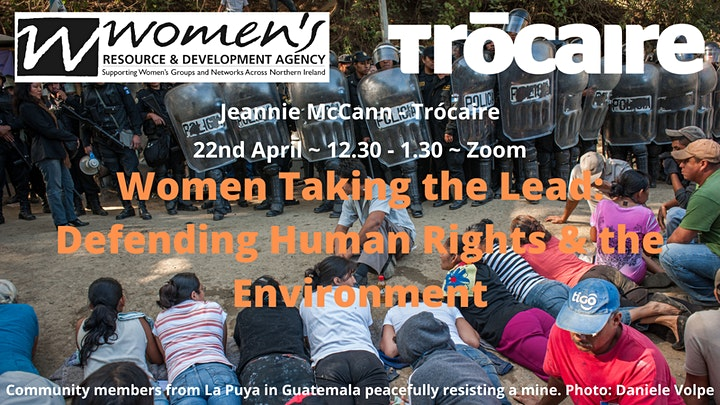 Women Taking the Lead: Defending Human Rights & the Environment image
