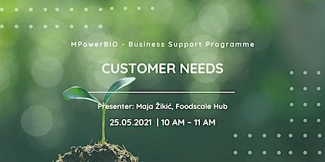 MPowerBIO BSP - Customer Needs tickets