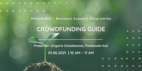 MPowerBIO BSP - Crowdfunding Guide tickets