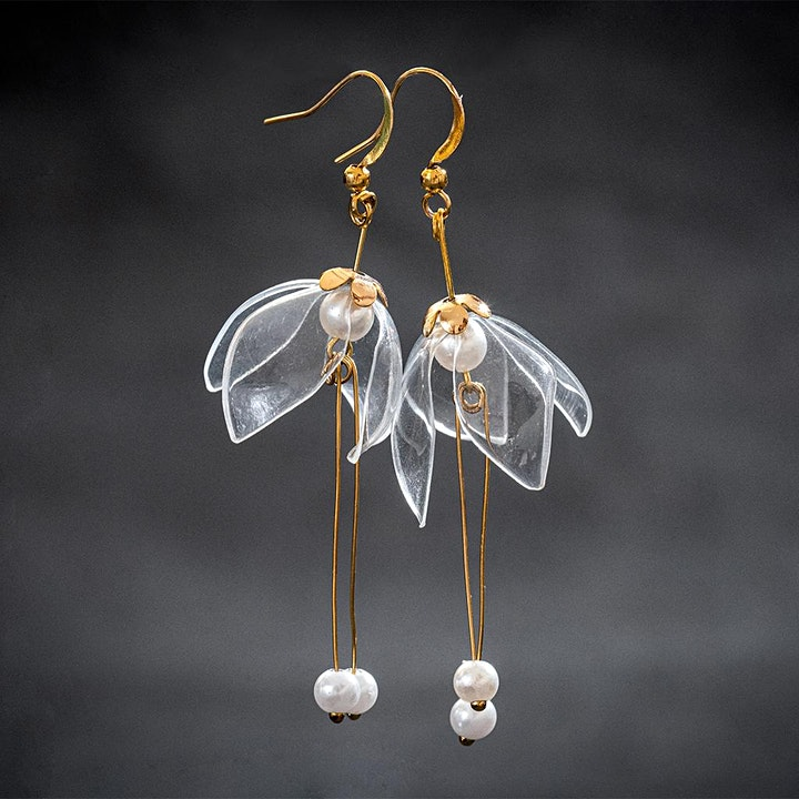"""""""Make your own Zero Waste Earrings"""" Workshop image"""