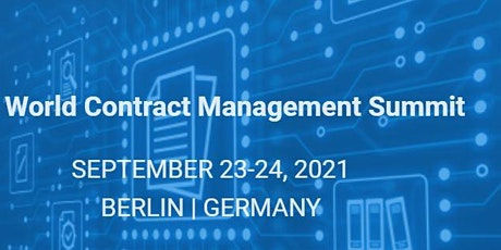 3rd Annual World Contract Management Summit tickets
