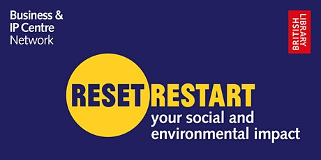 Reset. Restart: your social and environmental impact tickets