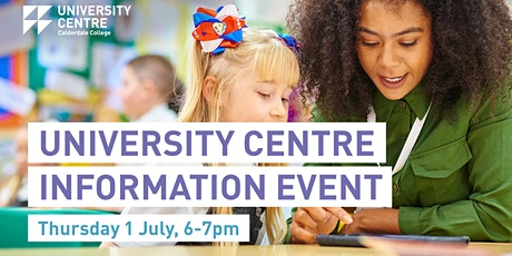 University Centre Calderdale College Information Event tickets