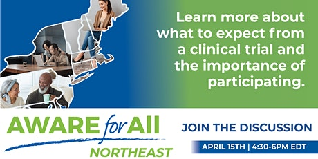 AWARE for All - Northeast Virtual Health Event 2021 tickets