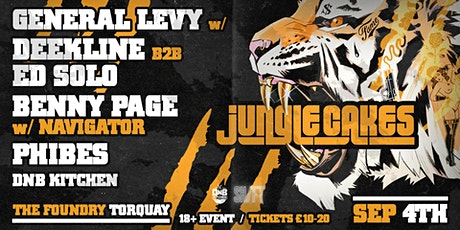 Jungle Cakes ft. General Levy at the Foundry Torqu tickets