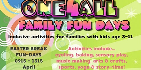 One4All Family Fun days tickets