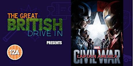 Captain America Civil War (Doors Open at 17:15) tickets