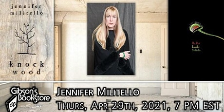 Poet Jennifer Militello, The Pact tickets