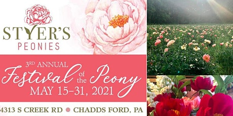 Styer's Festival of the Peony tickets
