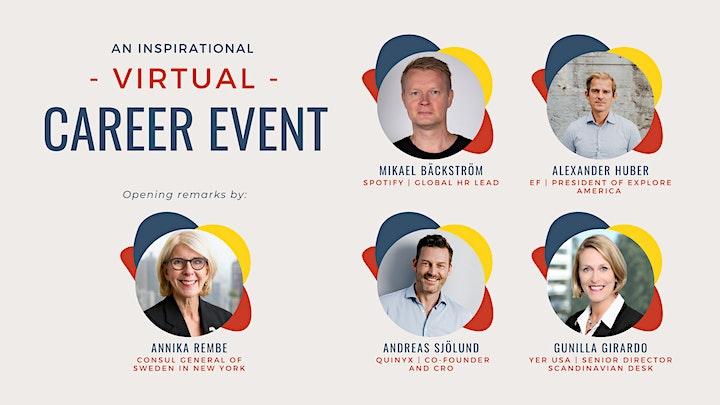 An Inspirational Virtual Career Event image