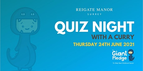 Quiz Night in aid of The Giant Pledge tickets