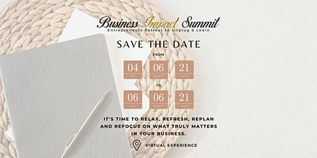 Business Impact Summit 2021 tickets