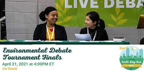 Environmental Debate Tournament Finals tickets