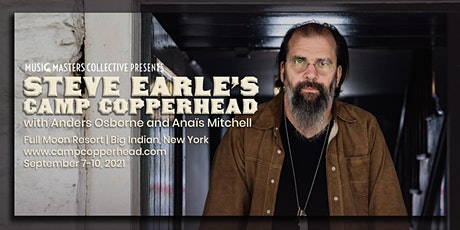 Steve Earle's Camp Copperhead tickets