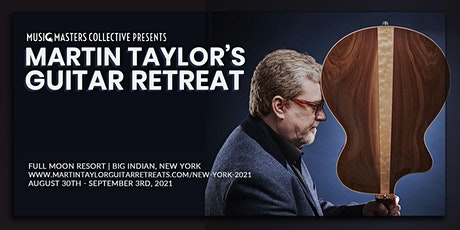 Martin Taylor's NY Guitar Retreat tickets