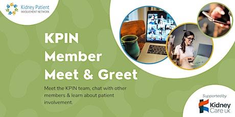KPIN Member Meet & Greet tickets