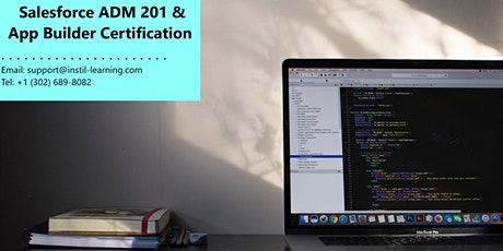 Salesforce Admin 201 and App Builder Training In Yarmouth, MA tickets