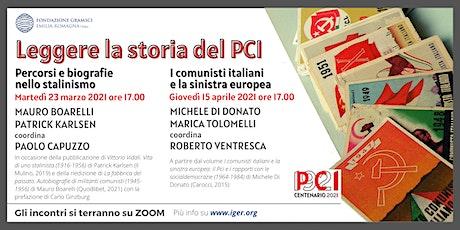 Leggere la storia del PCI biglietti