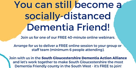 Online Dementia Information Session tickets