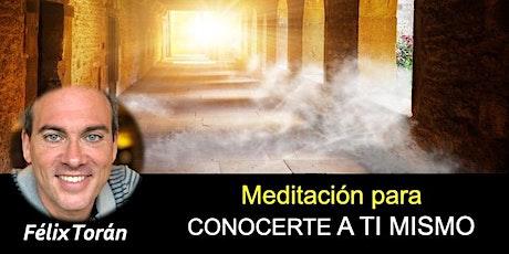 Meditación para conocerte a ti mismo (Zoom) tickets