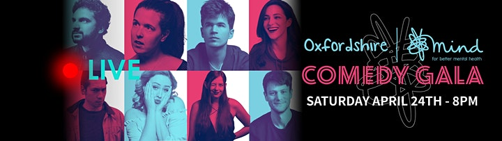 Oxfordshire Mind Comedy Gala 2021 (online) image