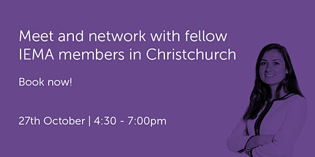 NZ271021 New Zealand: Christchurch Networking Event tickets