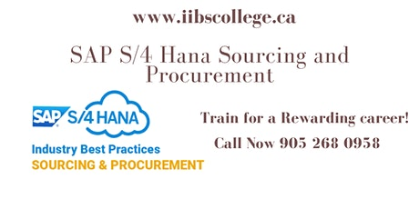 SAP S/4 HANA Sourcing and Procurement (SAP MM) Certification!! tickets