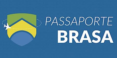 Passaporte BRASA: Estudando no Exterior bilhetes