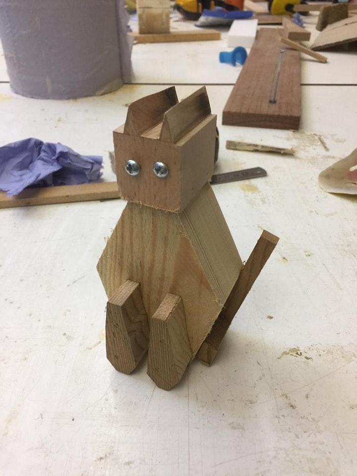 Make your own cat or dog sculpture, age 7+ image