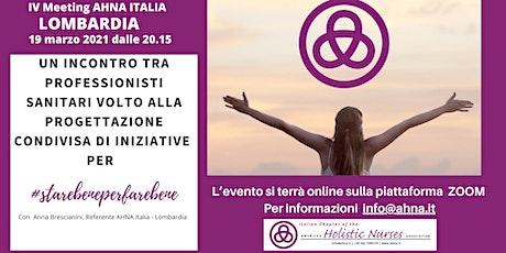 MEETING AHNA Lombardia biglietti