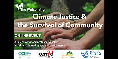 Climate Justice and the Survival of Community tickets