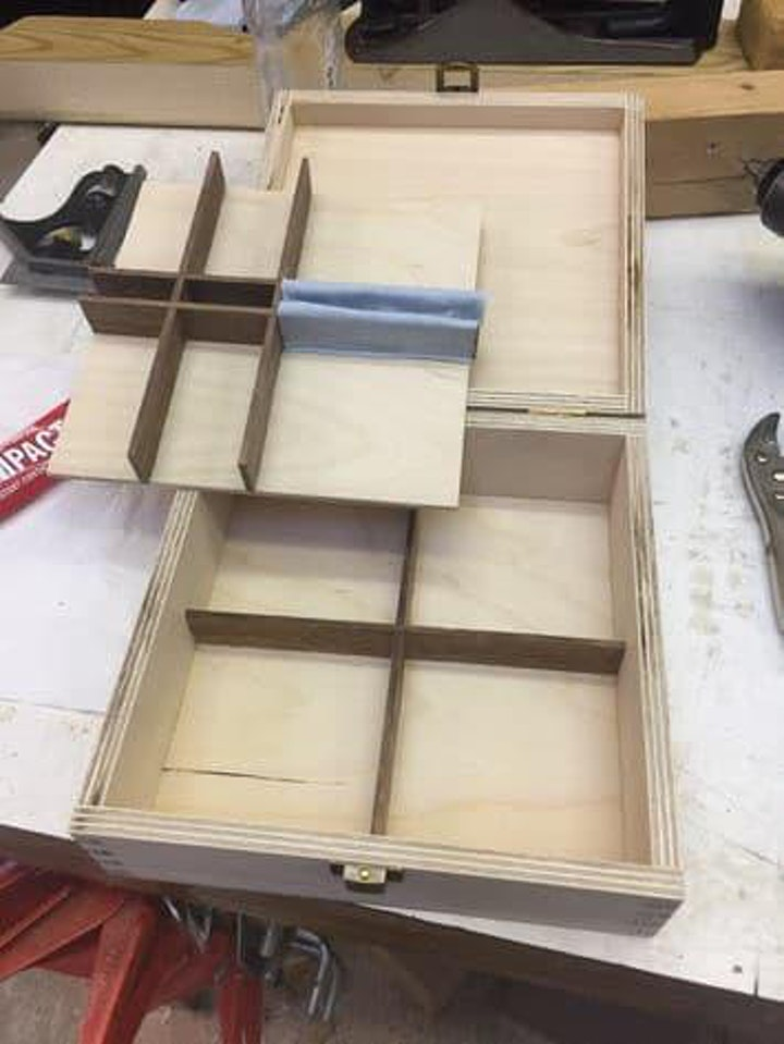 HOME EDUCATION Make a Jewellery  or Collections Box (Age 11-16) image