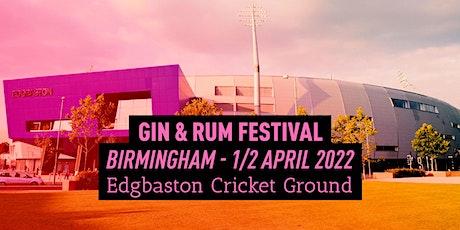 The Gin & Rum Festival - Birmingham - 2022 tickets