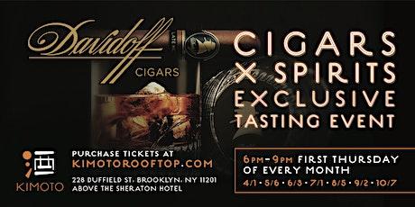 DAVIDOFF CIGAR X SPIRITS SUMMER NIGHT SERIES 2021 tickets