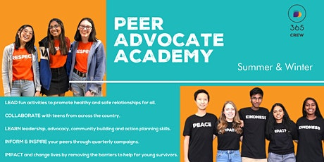 Virtual Event : Peer Advocate Academy tickets