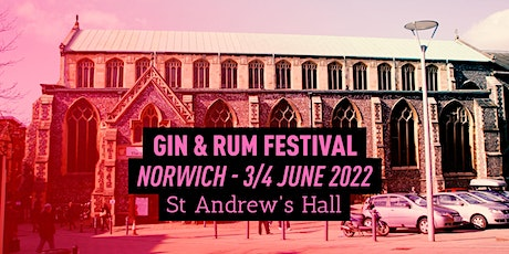 The Gin & Rum Festival - Norwich - 2022 tickets