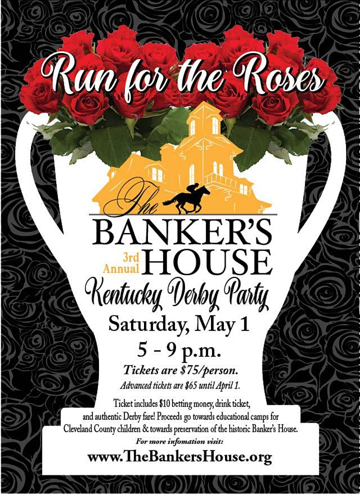 Run for the Roses: 3rd Annual Kentucky Derby Party at The Banker's House image
