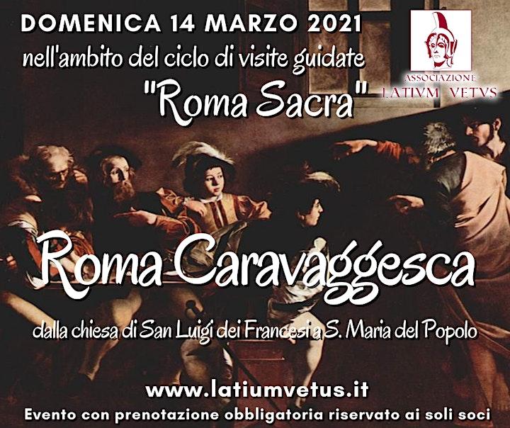 Immagine Roma Sacra, Visita guidata alla Roma caravaggesca