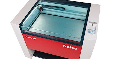 Einführung Laser-Cutter Speedy360 (intern) Tickets