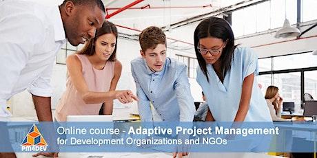 eCourse: Adaptive Project Management for Development (April 12, 2021) tickets