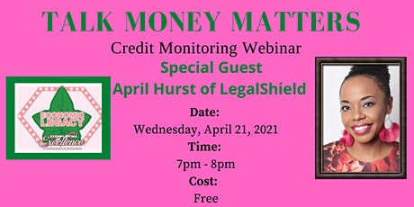 Talk Money Matters: Credit Monitoring tickets