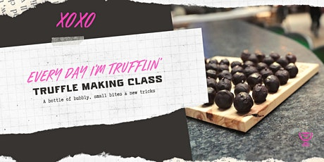 XOXO Truffle Making Class tickets