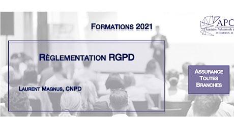Règlementation GDPR billets