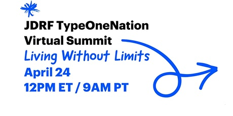 JDRF TypeOneNation Virtual Summit tickets