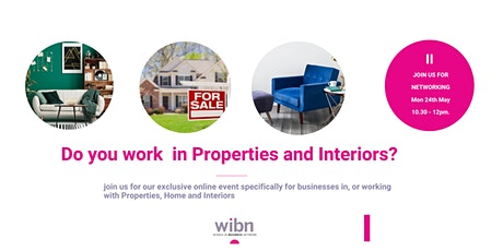 Women In Property and Interiors Networking Event tickets