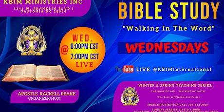 Wednesday Virtual Night - Bible Study Night tickets