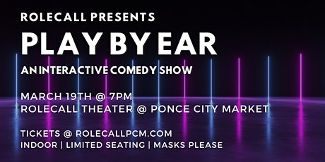 Play By Ear - A Comedy Show tickets