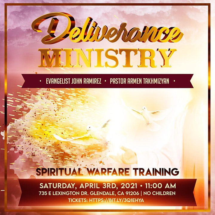 Spiritual Warfare Training With John Ramirez & Pastor Armen image